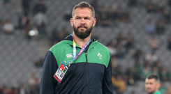 New regime: Andy Farrell has plenty to ponder as he takes up the Ireland reins