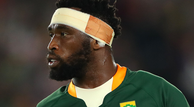 Blazing trail: Siya Kolisi is the Boks' first ever black captain