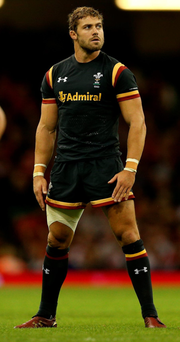 End of the world: Leigh Halfpenny before his injury