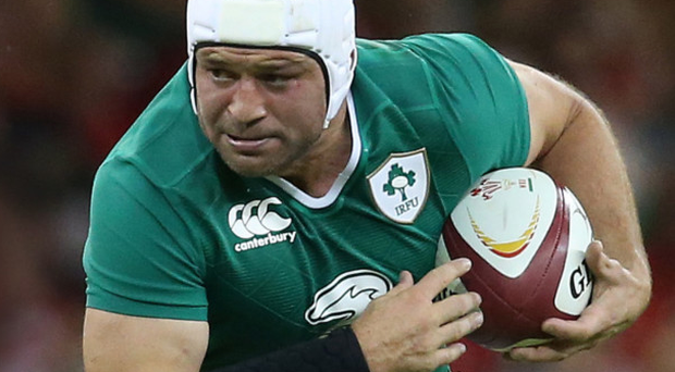 Third time lucky: Rory Best is ready for action