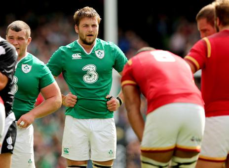 Class: Iain Henderson has proved he is ready to start