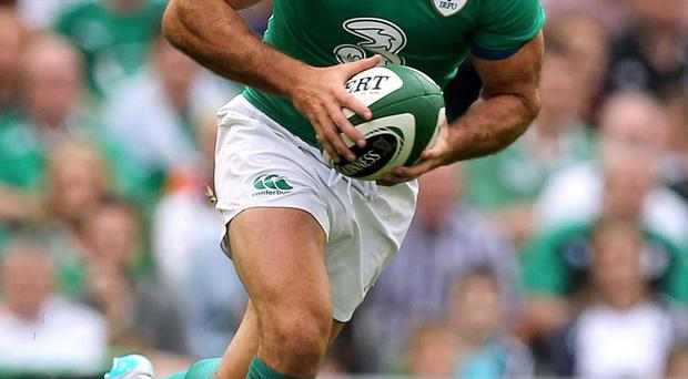 All in hand: Rob Kearney says Ireland will be switched on after watching footage of previous World Cup