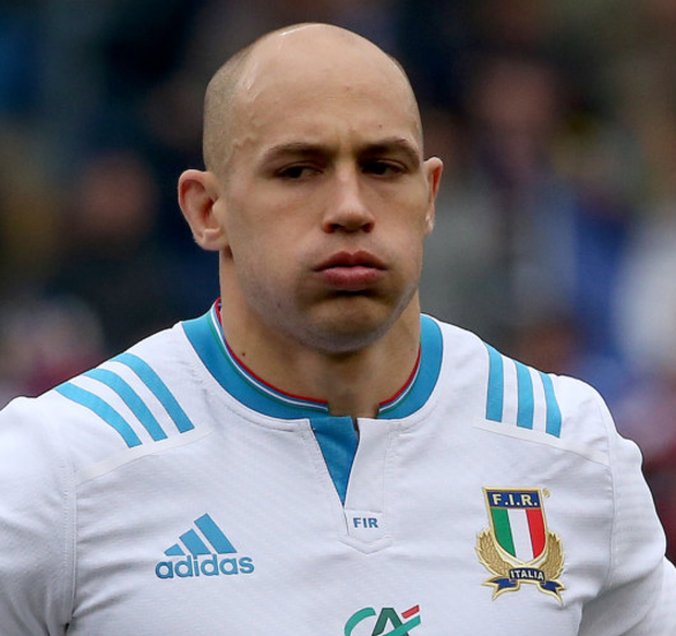 Raring to go: Sergio Parisse fit again to take on Ireland