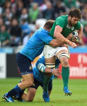 Outstanding: Ulster's Iain Henderson in action