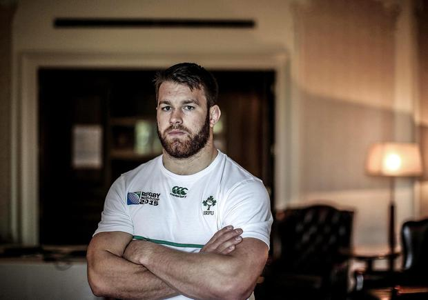 Business end: Ireland openside flanker Sean O'Brien is ready to get under the skin of France fly-half Frederic Michalak