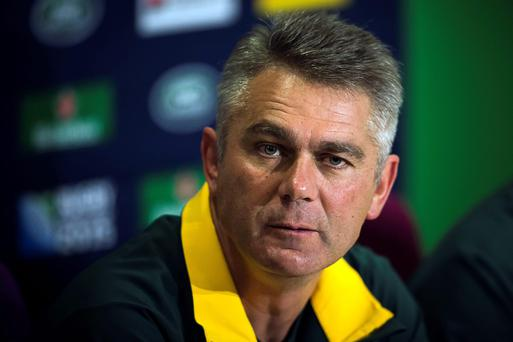 South Africa's head coach Heyneke Meyer