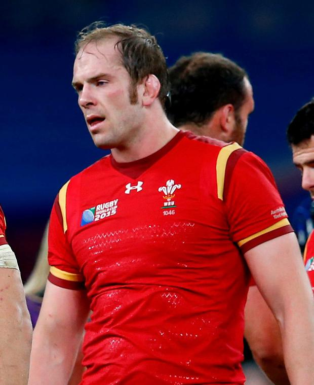 Moving on: Alun-Wyn Jones