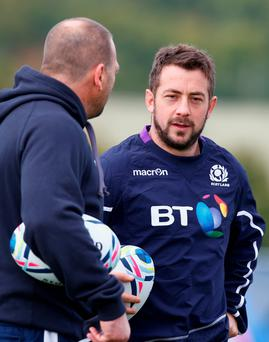 Up for it: Scotland relish the test ahead, says Greig Laidlaw