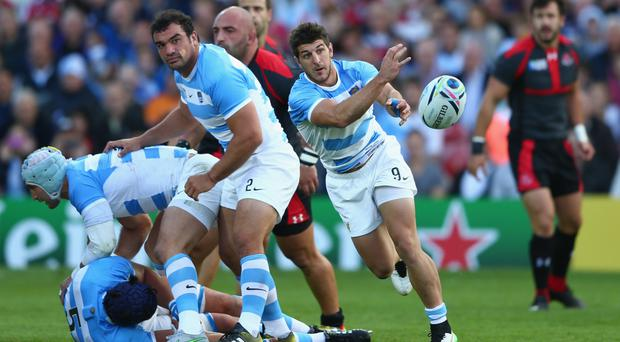 Up and at it: Tomas Cubelli believes the way Argentina approach games is paying dividends