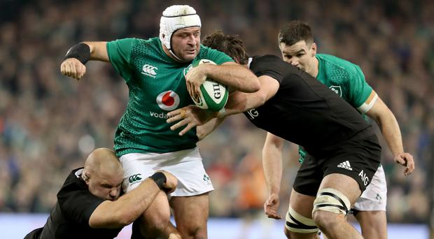 Fierce competition: Ulster's Rory Best is one of the few Ireland players whose place in team looks safe