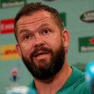 No distractions: Ireland's defence coach Andy Farrell