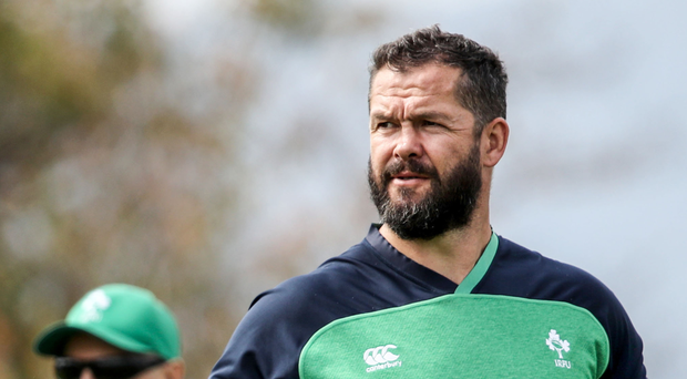 Stepping up: Andy Farrell wants Ireland to engage higher gear