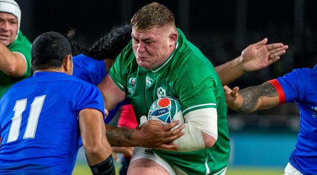 Warning shot: Tadhg Furlong wants to be on the front foot