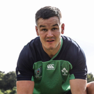 In his sights: Ireland's Johnny Sexton is focused on causing a big upset against New Zealand after the disappointment of four years ago when he missed the quarter-final against Argentina through injury