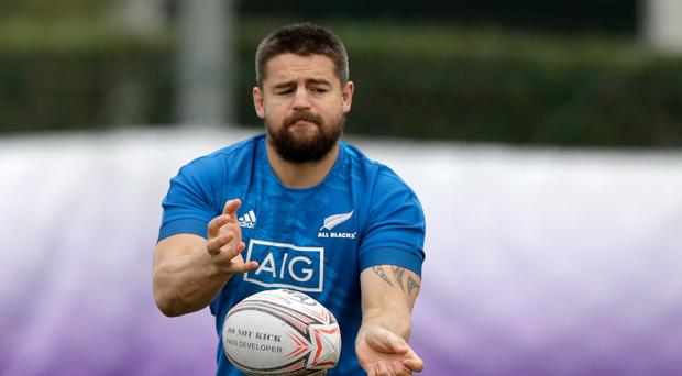 Watch out: Dane Coles had a warning shot for Ireland