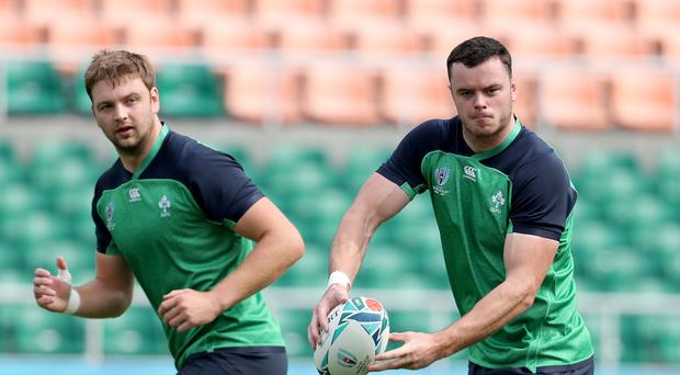 Top men: Iain Henderson and James Ryan have come in for special praise