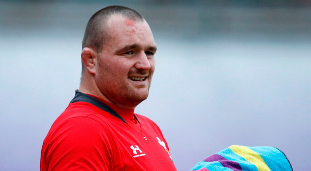 Leader: Ken Owens is hoping to land another win over South Africa