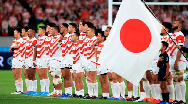 Potential market: Japan has been gripped with rugby fever