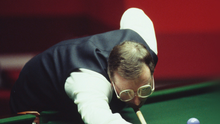 High drama: Dennis Taylor will always be remembered for his 1985 world success