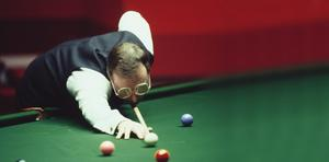 Fond memories: Dennis Taylor beat fellow Northern Ireland legend Alex Higgins in the final of The Masters in 1987