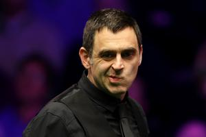 On horizon: Ronnie O'Sullivan could face Mark Allen in the quarter-finals