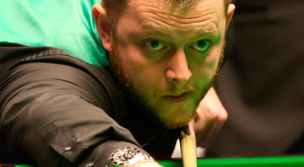 On fire: Mark Allen made quick work of his second round clash