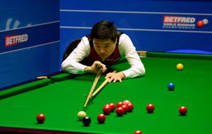 Top form: Ding Junhui on way to 13-3 win over Mark Williams