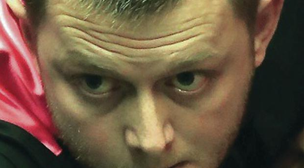 Winning feeling: Mark Allen marches on at Crucible