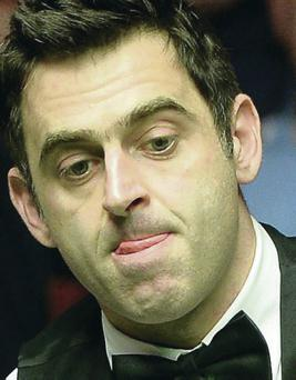 Ronnie O'Sullivan is chasing sixth world title