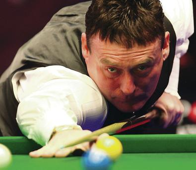 Star quality: Jimmy White features in tonight's legends event at Belfast's Waterfront Hall alongside fellow great Stephen Hendry