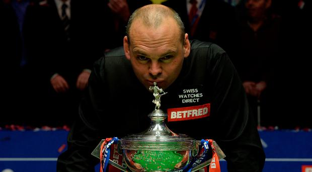 New world: Stuart Bingham held nerve to take title