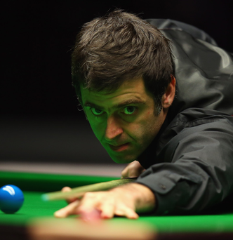 Belfast bound: Ronnie O'Sullivan will play Stephen Hendry at the Waterfront Hall on the Legends Tour