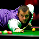 On target: Mark Allen beating Shaun Murphy in the Masters ahead of tomorrow's clash with Barry Hawkins