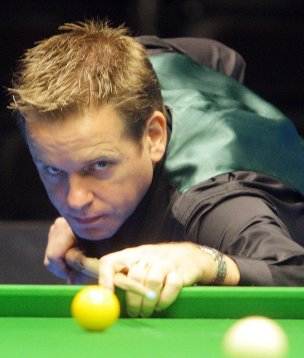 On target: Joe Swail is finding form at the English Open in Manchester