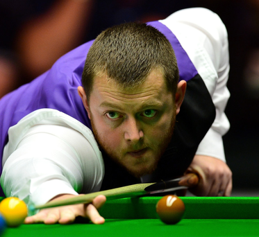 Off target: Mark Allen lost in semi