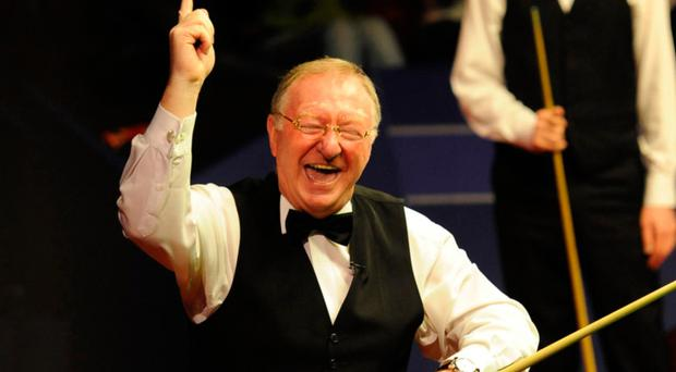 Play it again: Dennis Taylor and Steve Davis mark 25th anniversary of famous world final