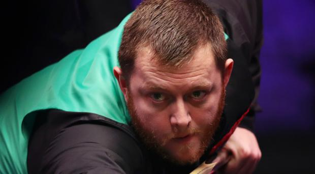 On cue: Mark Allen is aiming for glory in Belfast