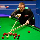 On form: Mark Allen beat Jamie O'Neill in the NI Open at the Waterfront Hall last night