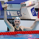 Record-breaker: Bethany Firth has set two new world records