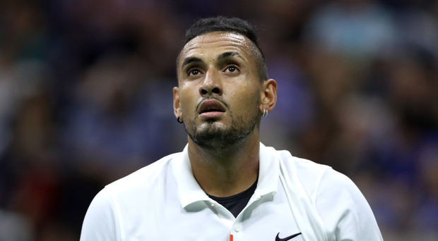 On tightrope: Nick Kyrgios is renowned to be controversial