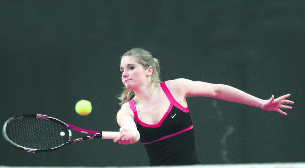 Emily Madill has been training at the Patrick Mouratoglou academy in Paris
