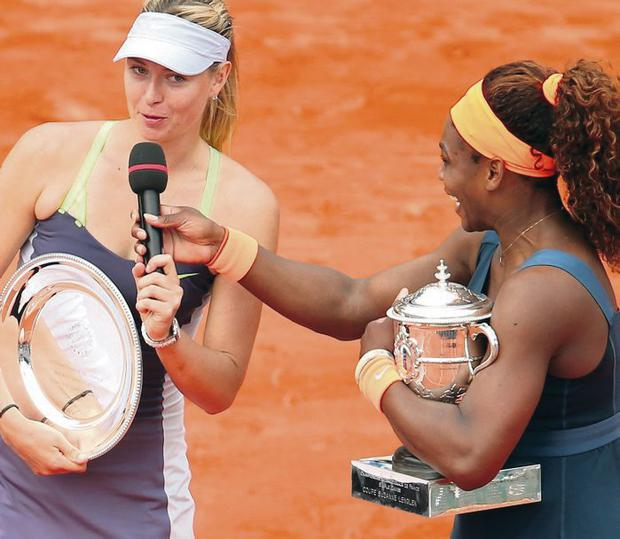 Serena Williams has tried to clear the air with maria Sharapova