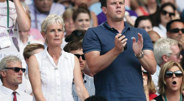 Judy Murray and Leon Smith