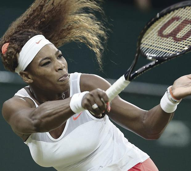 Still hungry: World No.1 Serena Williams keen to add to her success