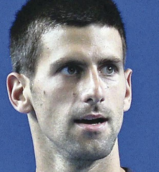 Major man: Novak Djokovic has won six career slams to date