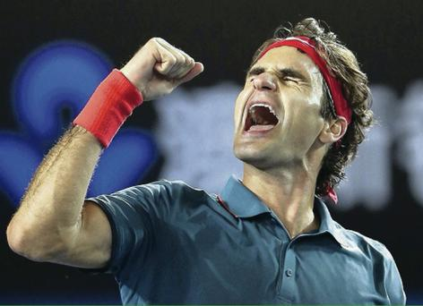 Roger Federer will challenge Grigor Dimitrov for a place in the final of the Brisbane International