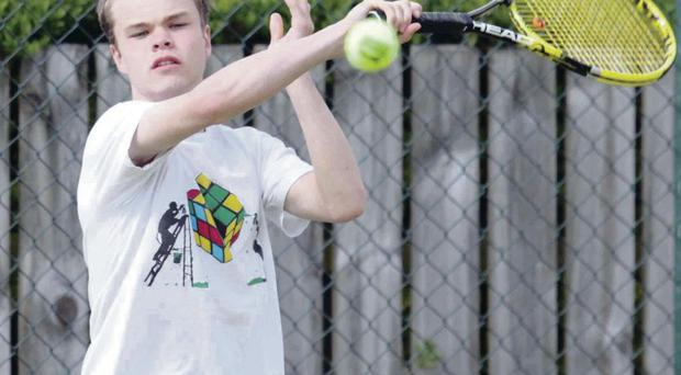 Jared Monaghan won the under-18 title at Dunedin event