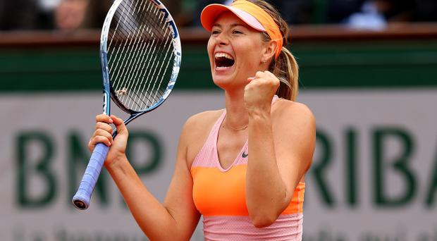 Maria Sharapova is looking to win another Grand Slam