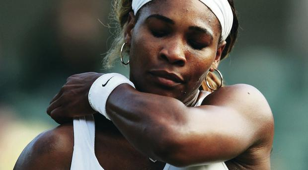 Form issue: Serena Williams reckons her form is so bad that she has little faith in playing alongside her sister Venus in the doubles