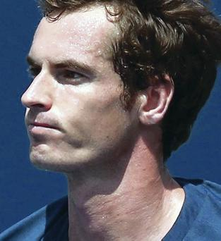 In the groove: Andy Murray saw off Nick Kyrgios